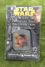 Star Wars Episode III Daily Telegraph 2005 Collector Pin - Luke Skywalker