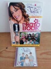 LIBRO VIOLETTA  PHOTO BOOK la seconda serie TV COMPLETO DI CD