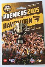 33867 HAWTHORN HAWKS 2015 PREMIERS AFL 3D REPLICA MINI TROPHY KEY RING KEYRING