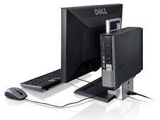 "Dell Optiplex 7010 AIO USFF Desktop i5 4GB 320GB HD DVD-RW Win 10 with 19"" LCD"