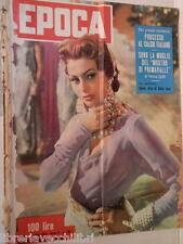 EPOCA 4 Luglio 1954 Sophia Loren De Sica Chessman Cereda Swanson Aga Khan Hidaka