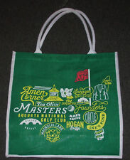 2018 Masters Jute Tote Bag Augusta National, Magnolia Lane, Amen Corner, etc.