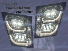 QSC Volvo Vn Vnl Truck 03-15 Full LED Performance Chrome Fog Light Lamp Pair