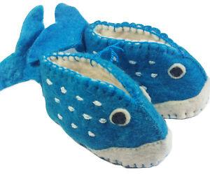Whale Zooties Baby Booties Silk Road Bazaar 6-12 month Slippers Shoes Infant
