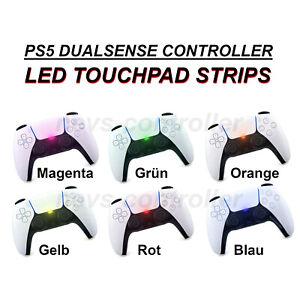PS5 LED Aufkleber Touchpad Playstation 5 Decals Skin Kleber | Design DualSense