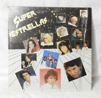 SUPER ESTRELLAS (PERALES/RAPHAEL/ROBERTO CARLOS) 1985 (RODVEN/2005) EX/EX!!