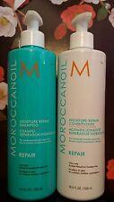 Moroccan Oil Moisture Repair Shampoo and Conditioner 16.9 oz/500ml (Set)