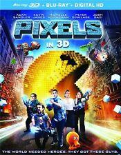 Pixels 3D (Blu-ray 3D + Blu-ray Combo Set)