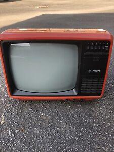 tv television televiseur vintage