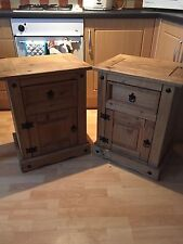 Corona Bedside Tables & Cabinets with 1 Drawer