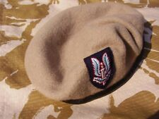 Genuine! SAS Special Air Service Famous Sand Beret & Cloth Army Cap Badge - 60cm