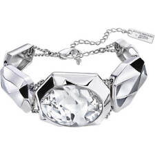 NIB Atelier Swarovski Crystal Jean Paul Gaultier Reverse Bracelet 5243745