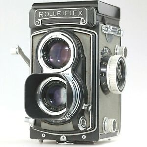 【EXC+++++】 Rolleiflex Rollei T TLR Camera Zeiss Tessar 75mm f3.5 Lens From JAPAN