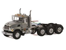 Set of 2 WSI 33-2012 Mack Granite 8x4 Tractors - Grey - Die-cast 1/50 Mint