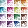 430pcs Unsoldered Aluminum Open Jump Ring Loop Jewelry Findings Colorful 6x0.8mm
