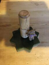 Small Antique Bone Container