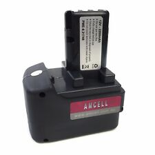 Metabo 12V 2.2 Ah Replacement Battery NiCd (Panasonic Cells) (Round Centre Pin)