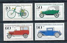 TIMBRE STAMP ZEGEL ALLEMAGNE GERMANY BERLIN ANCÊTRES AUTOMOBILES OLD CAR 621-624
