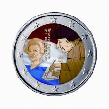 manueduc   HOLANDA  2011  2 EUROS CON COLORES  ERASMUS  CONMEMORATIVOS   NUEVOS