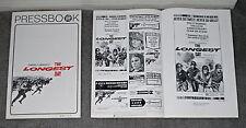 THE LONGEST DAY original movie pressbook JOHN WAYNE/ROBERT MITCHUM/HENRY FONDA