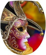 Aufkleber -deckel WC deko Maske Venedig 35x42cm Ref 2168