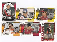 2003 Optima GOLD Complete 50 card set BV$40!! Kahne ROOKIE, Johnson, Gordon.