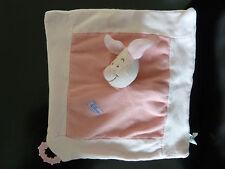 30- DOUDOU PLAT ROSE cochon PORCINET DISNEY BABY NICOTOY PLAQUE DENTITION TBE