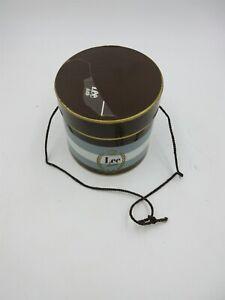 Vintage LEE fedora hat, cowboy salesman sample miniature, with LEE box