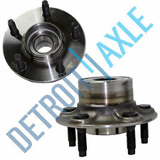 Set of (2) New REAR Complete Wheel Hub and Bearing Assembly for Sable and Taurus
