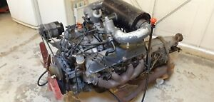 Rover v8 engine and Auto Gearbox. 1975 P6.