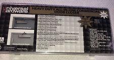 Universal Hardware Medium-Duty Bronze Commercial Door Closer Model # 4062