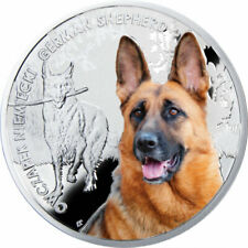 Niue 2014 1$ German Shepherd Man's Best Friends Proof Silver Coin