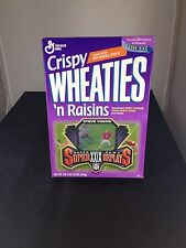 1996 Steve Young 49ers NFL Crispy Wheaties Empty Cereal Box Sealed, One Owner