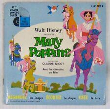 Walt Disney 45 tours Mary Poppins Claude Nicot