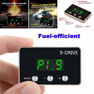 Car LCD Electronic Throttle Controller 9 MODE Pedal Accelerator Fuel-efficient
