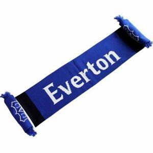 Everton Secondary Stripe Scarf Winter Accessory Xmas Birthday Gift