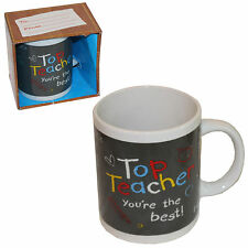 Top Teacher You're The Best Mug Ceramic Thank You Leaving End of Term Gift