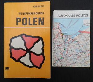 3702 EAST GERMAN/DDR/GDR/POLAND  Cold War TOURIST GUIDE TO POLAND cir 1980