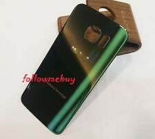 A+ Rear Glass Back Battery Cover For Samsung Galaxy S6 edge G925T T-Mobile Green