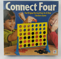 Connect 4 Four (2002) Vertical Four-In-A-Row Checkers Game Hasbro - New / Sealed