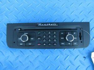 Maserati GranTurismo GranCabrio radio control panel face plate #1266