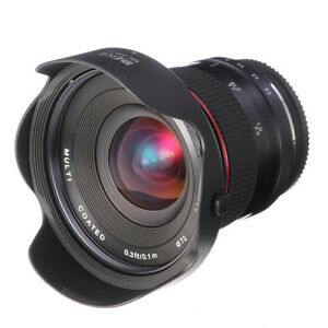 Meike 12mm F2.8-F22 Super Wide Angle Fisheye Lens MF For CANON EOS EF-M M5 M6 M3