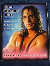 """Bret """"Hitman"""" Hart: The Best There is, Best there was... Book - Paperback (2000)"""