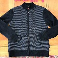 Sunice windstopper 100% wool zippered sweater/lined/MXXL/pockets/exc. condition