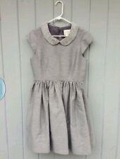 $598 Kate Spade Silver Madison Ave Kimberly Rhinestone Collar Dress Size 6 -RARE