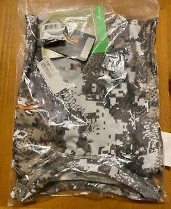 Sitka Core Lt Wt Crew Shirt - LS Optifade Elevated II XL 10033-EV-XL