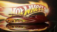 Hot Wheels Toy Car 2004 Demonition Wild Thing - Burgundy
