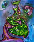 Original Acrylic Painting Sold By Artist, On a 16x20 Inch Canvas
