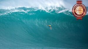 MASSIVE HUGE BIG WAVE WIPEOUT SURFING CRASH DECOR PHOTO PRINT PREMIUM POSTER