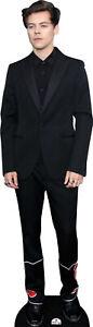 Harry Styles Black Suit 203 Celebrity Cutout